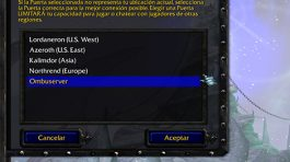 Lista de servidores de Battlenet en WC3