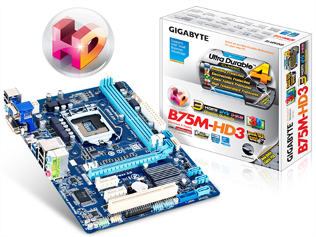 Placa GIGABYTE B75M-HD3