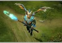 Skywrath Mage, estrechamente aparentado con Vengeful Spirit