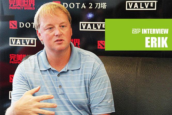 Entrevista a Erick Johnson sobre el futuro de Dota 2
