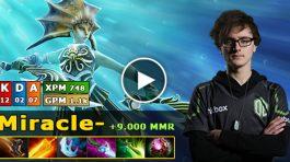 Miracle jugando con Naga