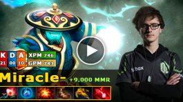 Miracle jugando con Storm Spirit