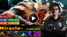 Miracle jugando con troll warlord