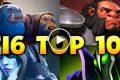 DOTA TI6 TOP 10