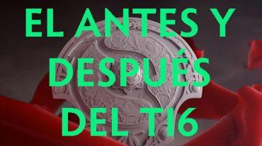 DOTA 2 - El Antes y despues del TI6