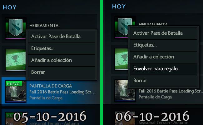 Battlepass enviar como regalo