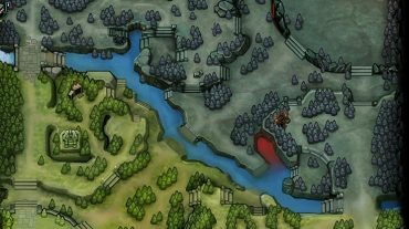 Mapa de Dota 2