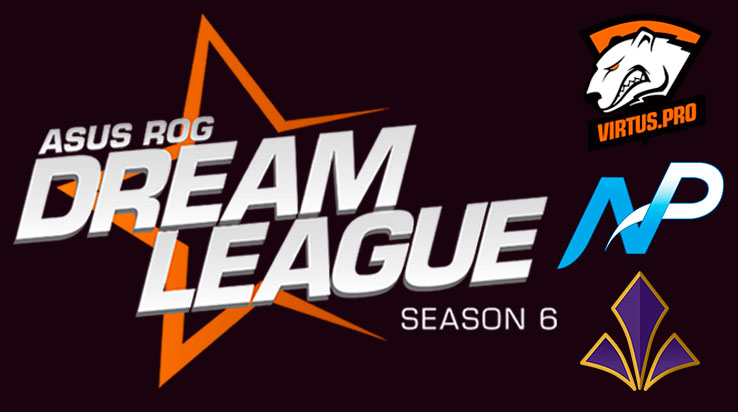 DreamLeague S6: Virtus.Pro - Team NP - Team Imperial