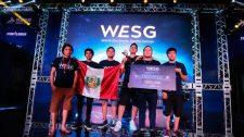 Infamous Primer puesto de WESG