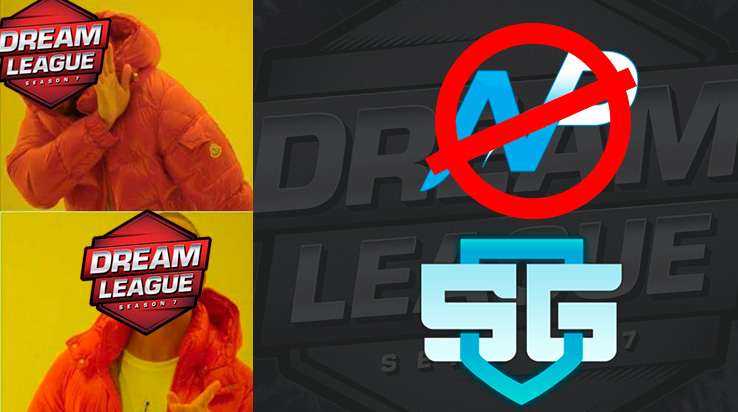 Team NP baneado por Dreamleague