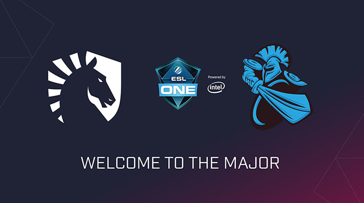 Newbee y Team Liquid Invitados directors a ESL One - Dota 2