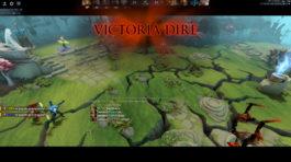 Pantalla de victoria en Dota 2
